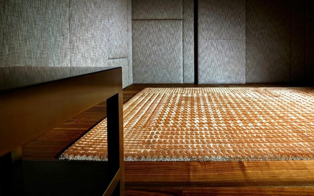 Комбинация цветов в ковре